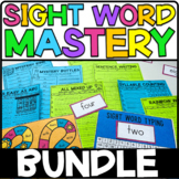 Sight Word Mastery Bundle | Sight Word Kit for an Entire Year