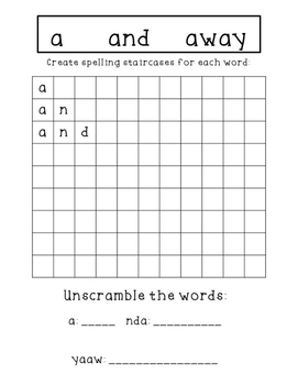 Sight Word Mastery Pack!