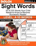 Sight Word Daily Practice, Master Reading {The Fun and Easy Way} Level A