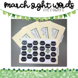 Sight Word Match: 601-700