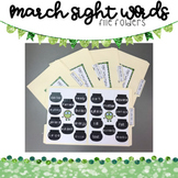 Sight Word Match: 701-800