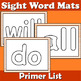 Sight Word Mats Bundle for PrePrimer to Third Grade Bundle