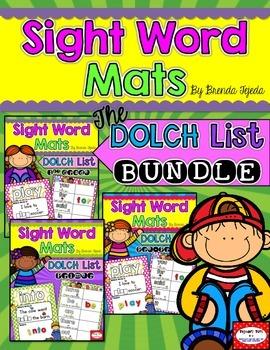 Sight Word Mats: DOLCH BUNDLE