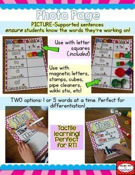 Sight Word Mats: DOLCH Primer