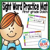 Sight Word Mats: First Grade