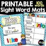 Sight Words  Activity Mats