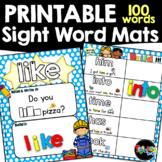 Sight Words  Activity Mats