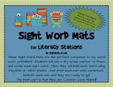 Sight Word Mats for Fry's List of Sight Words {1-25}