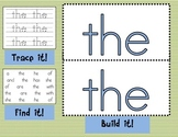 Sight Word Mats for Fry's List of Sight Words COMPLETE Set {100 Words}!