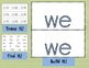 Sight Word Mats for Fry's List of Sight Words SET 2 {26-50}