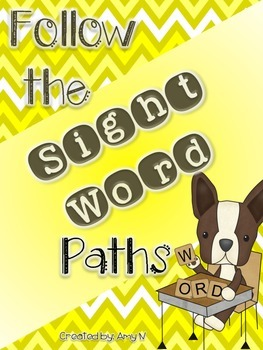 Sight Word Worksheets (Word Mazes)