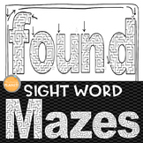 Sight Word Mazes: Second Grade