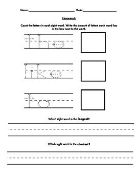 Sight Word Measurement