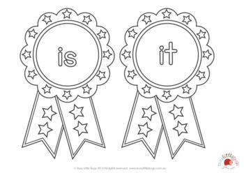 Sight Word Medals - Pre-Primer