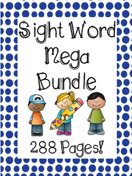 Sight Word Mega Bundle!