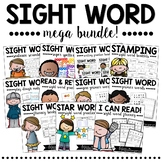 Sight Words MEGA BUNDLE   Print & Digital Sight Word Pract