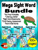 Sight Word Mega Bundle - Fry Word List 1 - 100