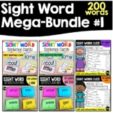 Sight Words Bundle 1