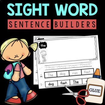 Sight Word Mega Pack - Writing - Fluency - Worksheets - Flashcards - 72 Words