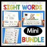 Sight Word Bundle - Writing - Fluency - Worksheets - Flash