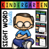 Sight Word Bundle - Writing - Fluency - Worksheets - Flash cards - 72 Words