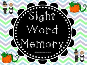 Sight Word Memory Bundle