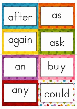 Sight Word Memory Game FREE (Grade 1)