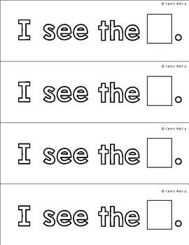 Sight Word Mini Book