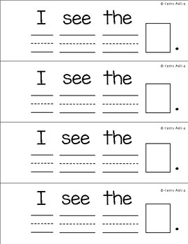 Sight Word Mini Book