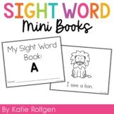 Sight Word Mini Book:  A