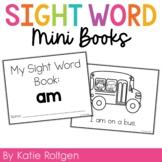 Sight Word Mini Book:  Am