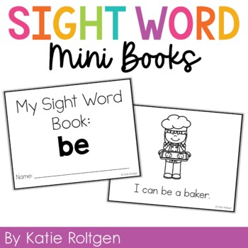 Sight Word Mini Book:  Be