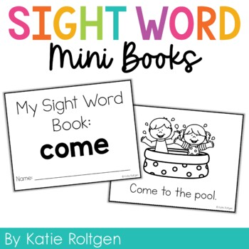 Sight Word Mini Book:  Come