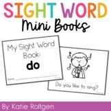 Sight Word Mini Book:  Do