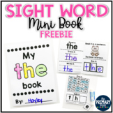 FREE Sight Word Mini Book