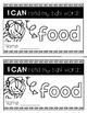 Sight Word Mini Book: Food