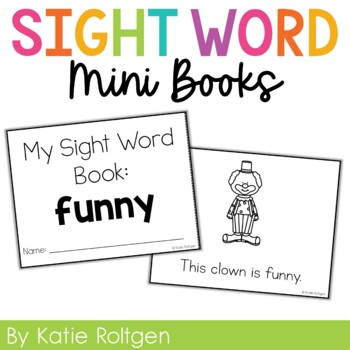Sight Word Mini Book:  Funny