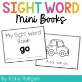 Sight Word Mini Book:  Go