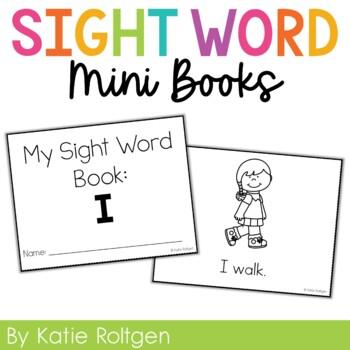 Sight Word Mini Book:  I