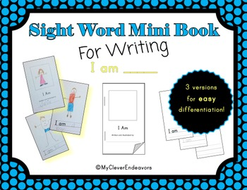 Sight Word Mini Book - I Am