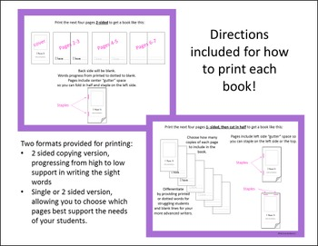 Sight Word Mini Book - I Have