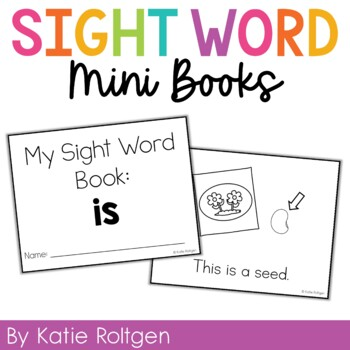 Sight Word Mini Book:  Is