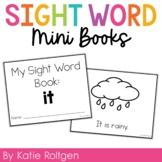 Sight Word Mini Book:  It
