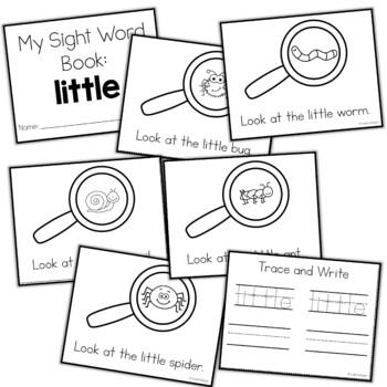Sight Word Mini Book:  Little