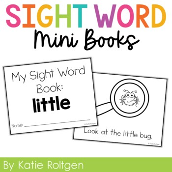 Sight Word Mini Book:  Little