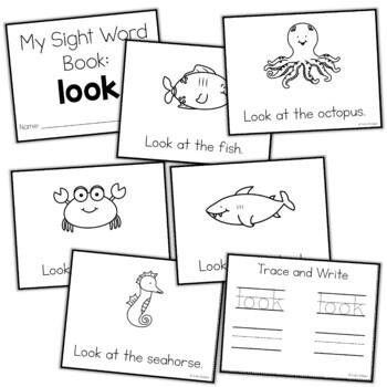 Sight Word Mini Book:  Look