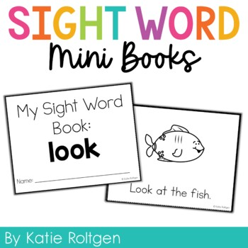 Sight Word Mini Book:  Look