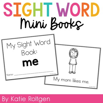 Sight Word Mini Book:  Me