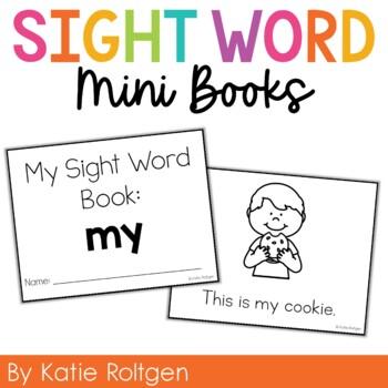 Sight Word Mini Book:  My