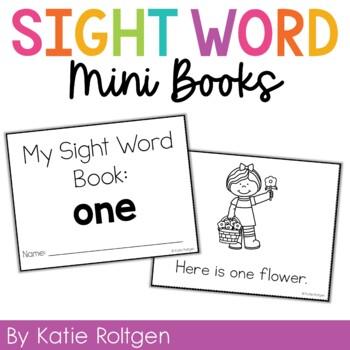 Sight Word Mini Book:  One
